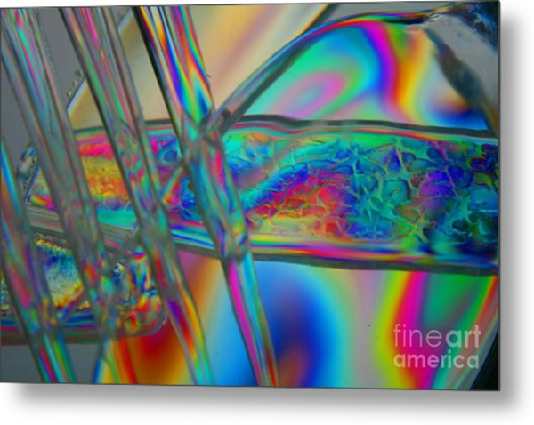 Abstraction In Color 2 Metal Print