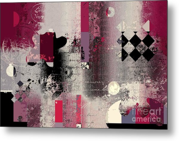 Abstracture - 21pp2a Metal Print