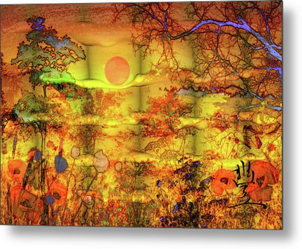 Metal Print featuring the painting Abundance by Valerie Anne Kelly