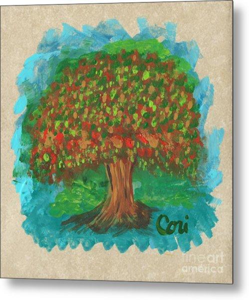 Abundant Tree Metal Print