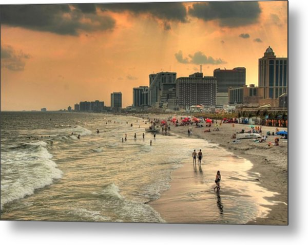 Ac Shore Metal Print