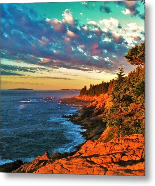 Acadia At Dawn Metal Print