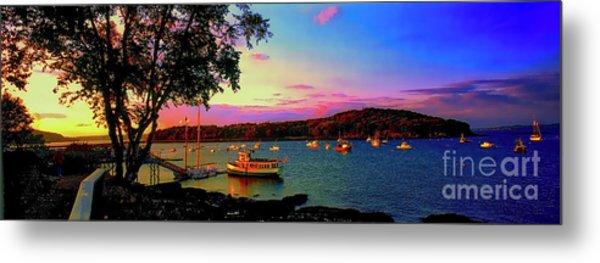Acadia Bar Harbor Sunset Cruises.tif Metal Print