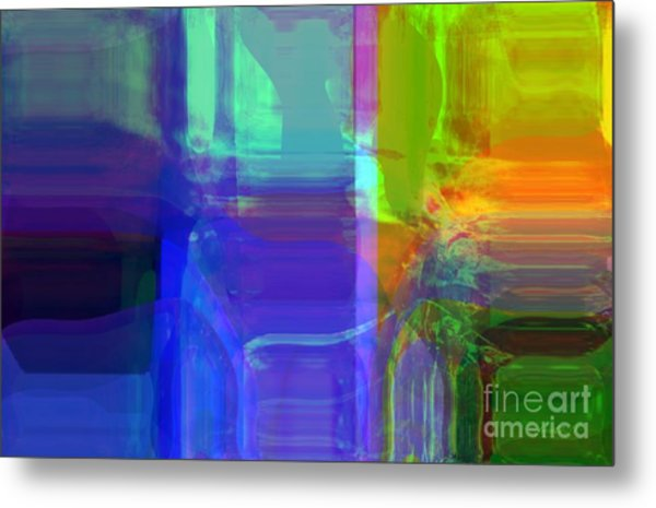 Accepting Beauty Metal Print