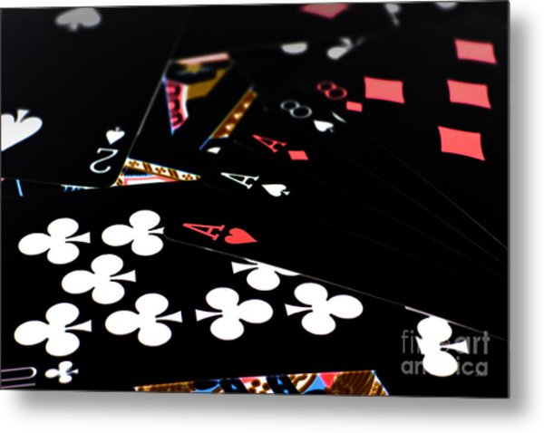 Aces And Eights Metal Print