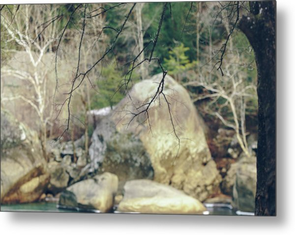 Across From Eagle Falls Metal Print