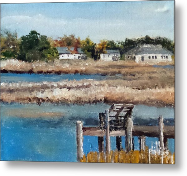 Across The White Oak Metal Print