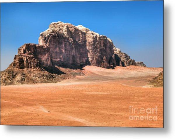 Across Wadi Rum Metal Print