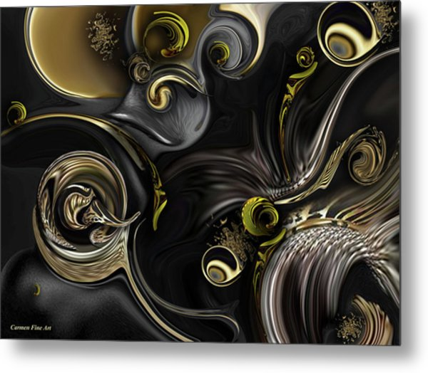 Act Including Instant Creation Metal Print