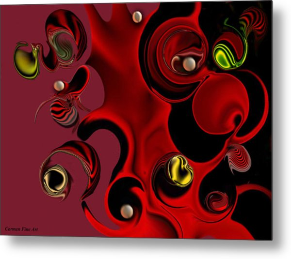 Act With Manufactured Energy Metal Print