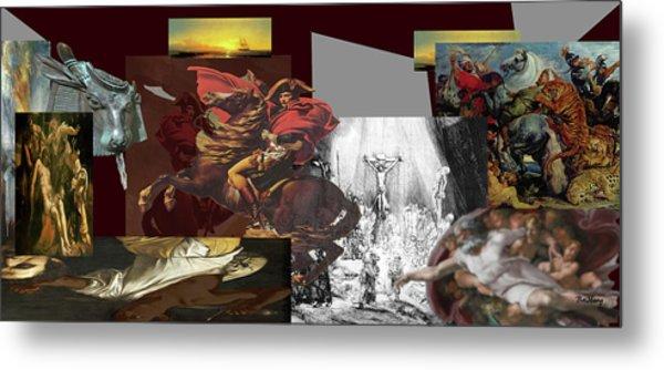 Metal Print featuring the digital art Acts Of War by David Bridburg
