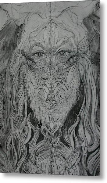 Adam Metal Print