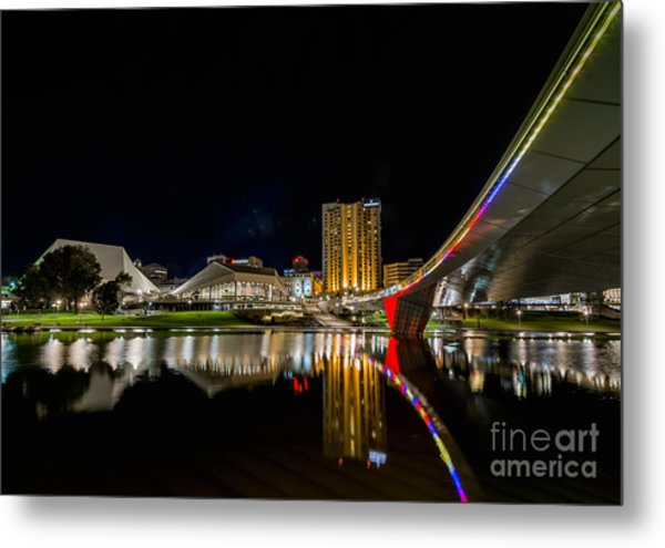 Adelaide Riverbank Metal Print