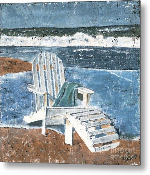 Adirondack Chair Metal Print
