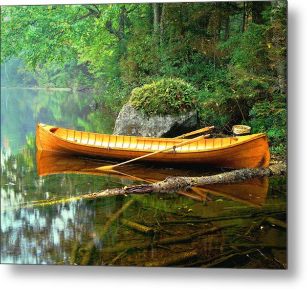 Adirondack Guideboat Metal Print