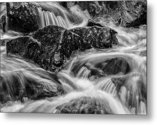 Adirondack Waterfall Metal Print