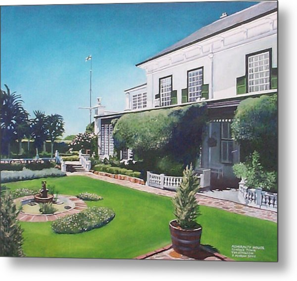 Admiralty House Metal Print