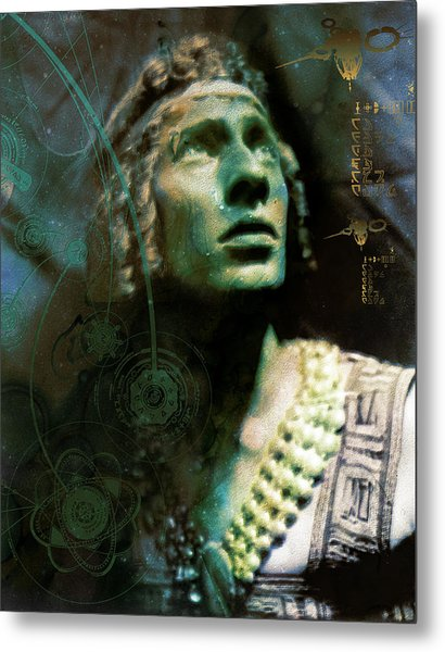Adolph Bolm Colorized Metal Print