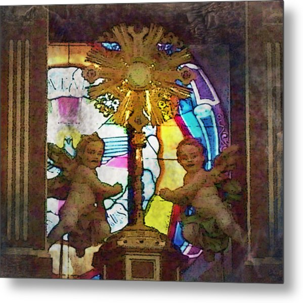Adoration Chapel 4 Metal Print