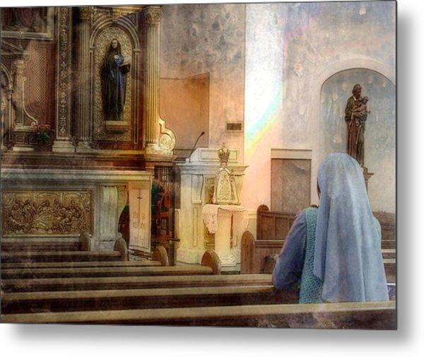 Adoration Chapel Metal Print