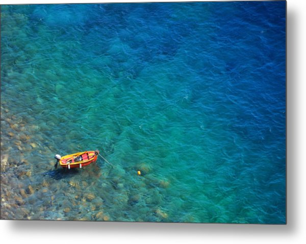 Aegean Sea Metal Print by Songquan Deng