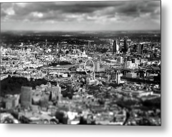 Aerial View Of London 6 Metal Print