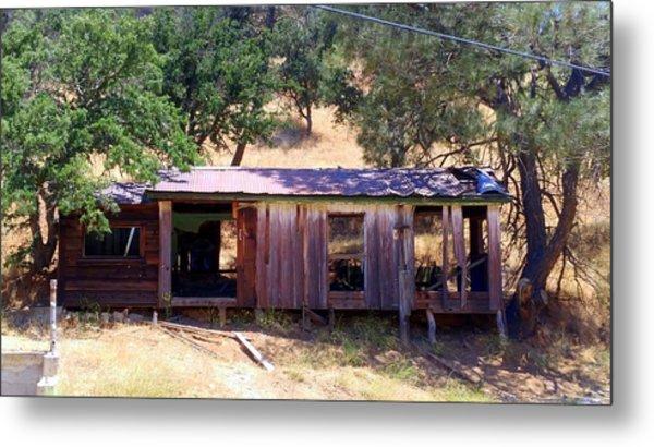 Cozy Cottage Kern County Metal Print