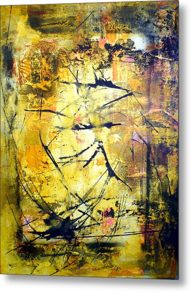 Aforethought Abstract Metal Print