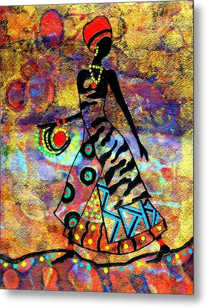 African Healer New Color Metal Print