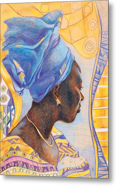 African Secession Metal Print