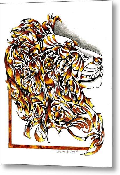 African Spirit Metal Print