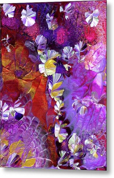 African Violet Awake #5 Metal Print