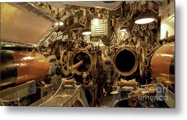 Aft Torpedo Tubes Metal Print