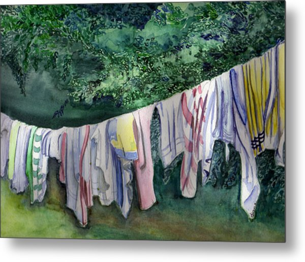 After A Day At The Beach Metal Print by Diana Davenport
