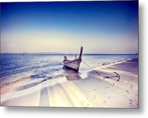 After A Hard Day Metal Print