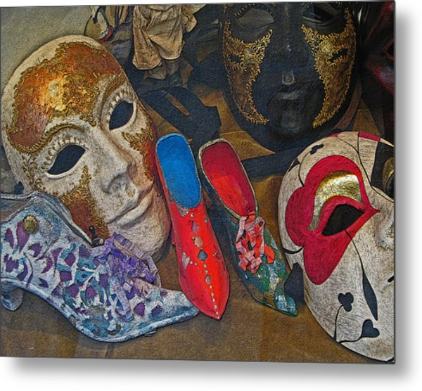 After Carnival Metal Print by Sonia Melnikova-Raich