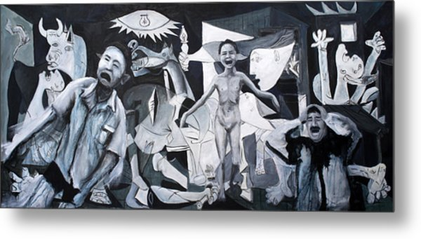 After Guernica Metal Print by Michelle Barone