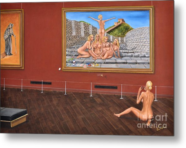 After Hours Op. 23 No. 7 Metal Print by CH Narrationism