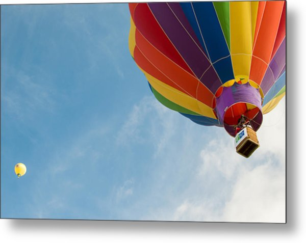 After Liftoff Metal Print