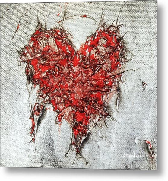 Metal Print featuring the painting After Love by Dedric Artlove W