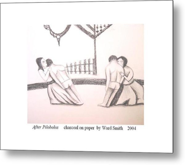 After Pilobolus Metal Print by Ward Smith