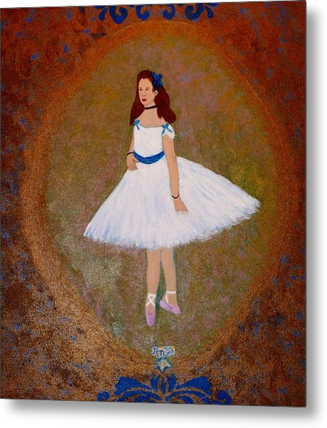 After Renoir - The Dancer Metal Print by Anke Wheeler
