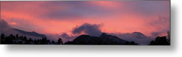 After Sunset - Panorama Metal Print