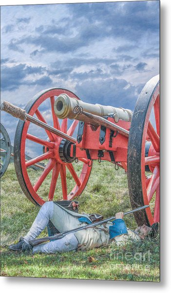After The Battle Metal Print by Randy Steele