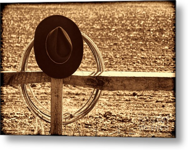 After The Drive Metal Print