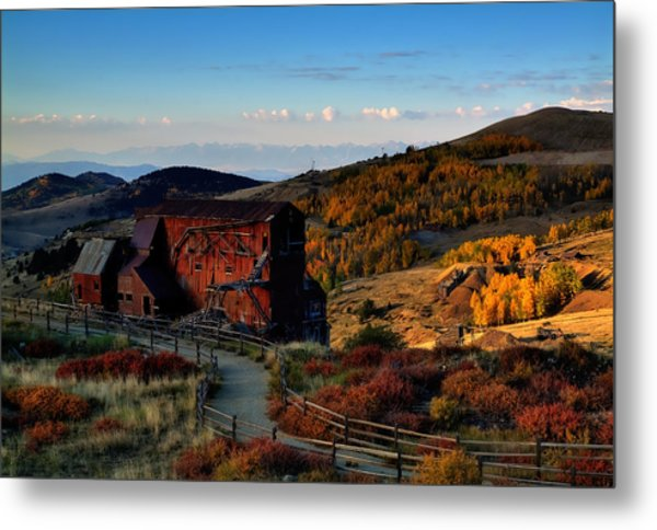 After The Gold Rush Metal Print