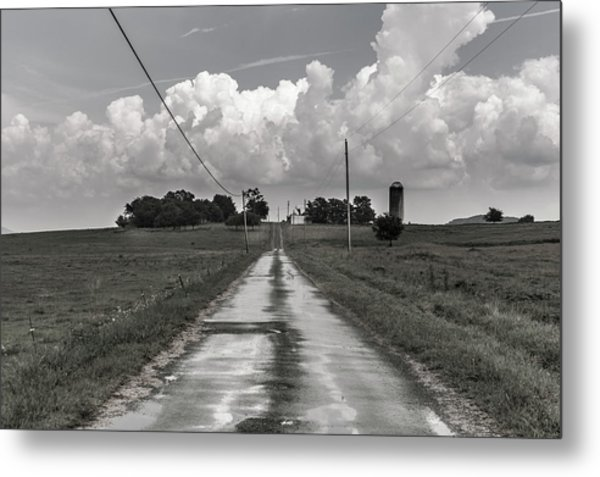 After The Rain In Readyville Metal Print