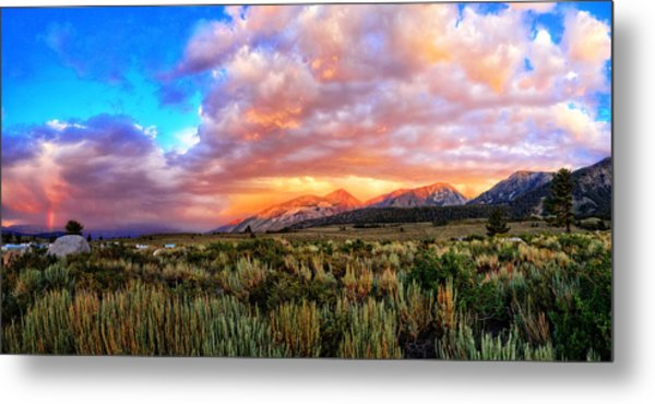 After The Storm Panorama Metal Print