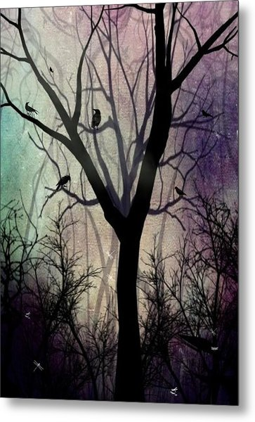 After Twilight Metal Print by Charlene Zatloukal
