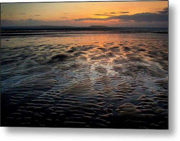Afterglow At Penmaenmawr Metal Print